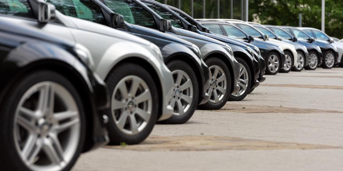 Mileage and options can affect a used car price