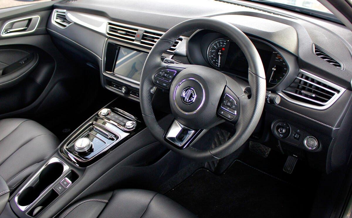 MG5 EV interior