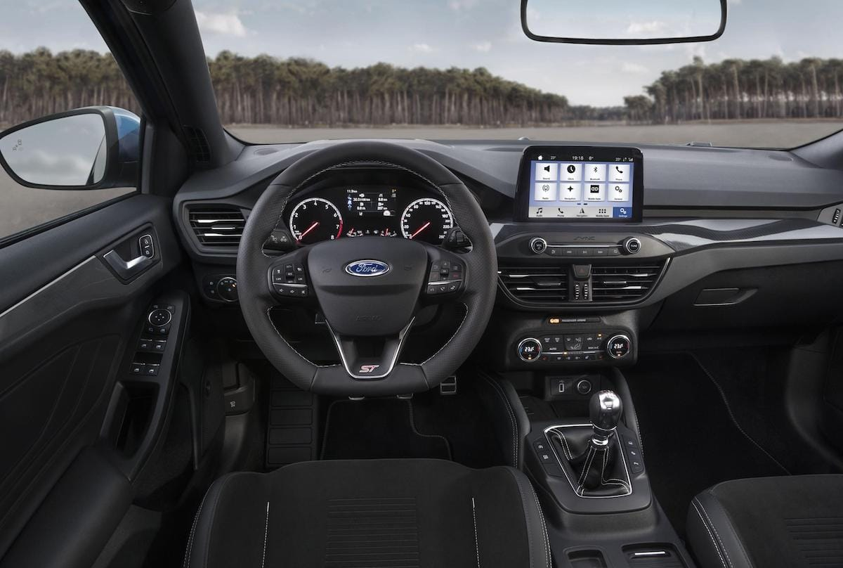 Ford Focus ST (2019 onwards) - interior and dashboard