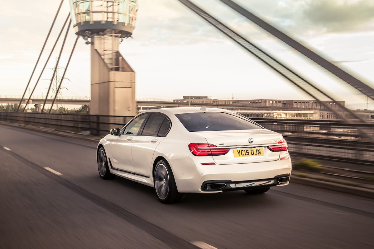 BMW 7 Series (2015 - 2019) – rear view