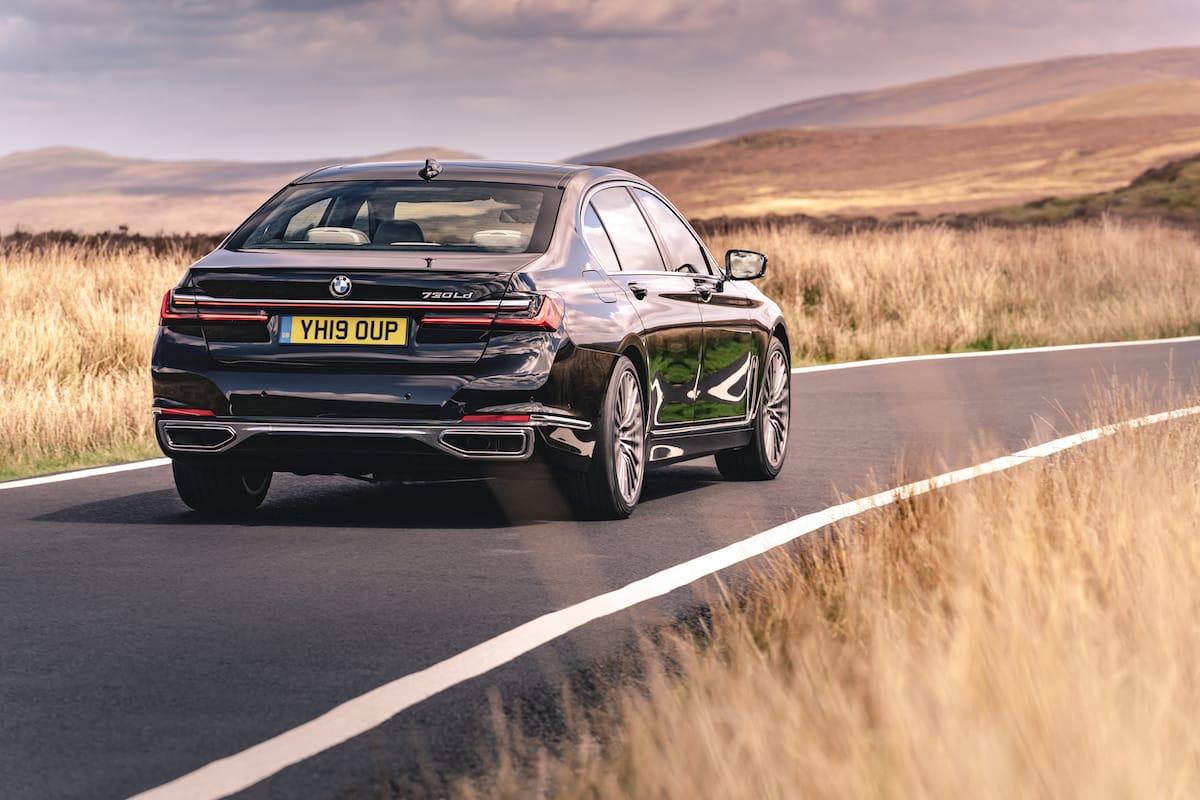 BMW 7 Series (2019 onwards) – rear view