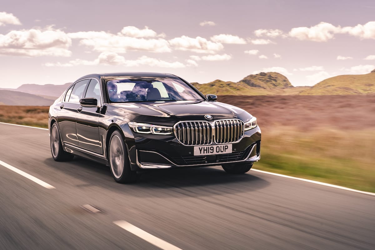 BMW 7 Series (2019 onwards) – front view
