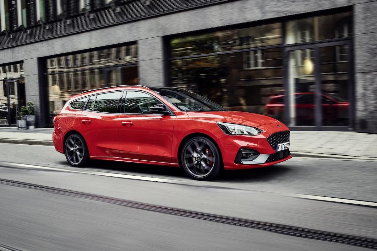Ford Focus ST Estate (2019 onwards) - front view