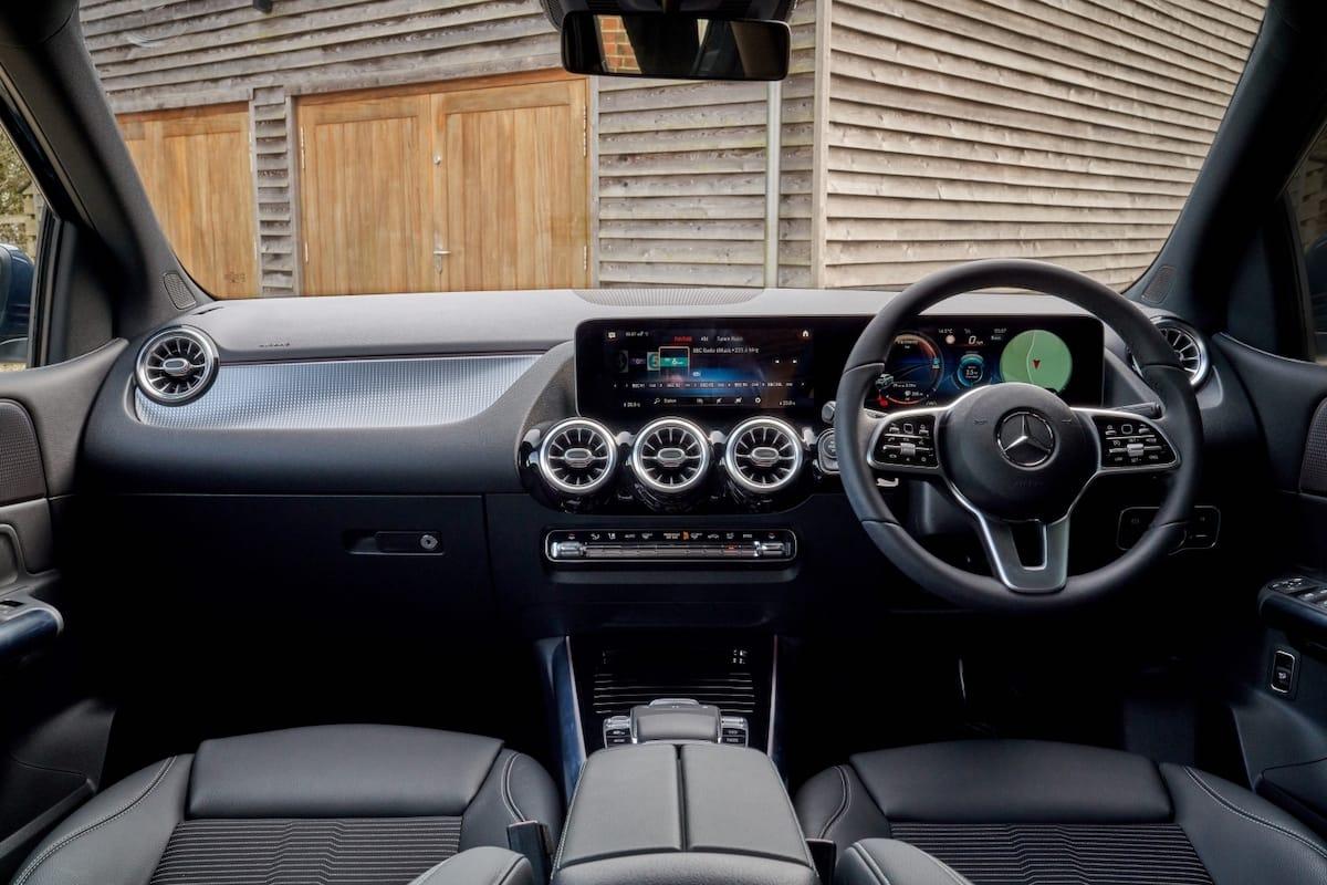 Mercedes-Benz B-Class (2019 onwards) – interior and dashboard