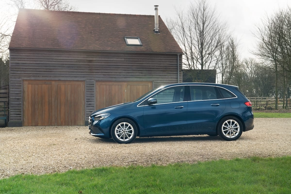 Mercedes-Benz B-Class (2019 onwards) – side profile