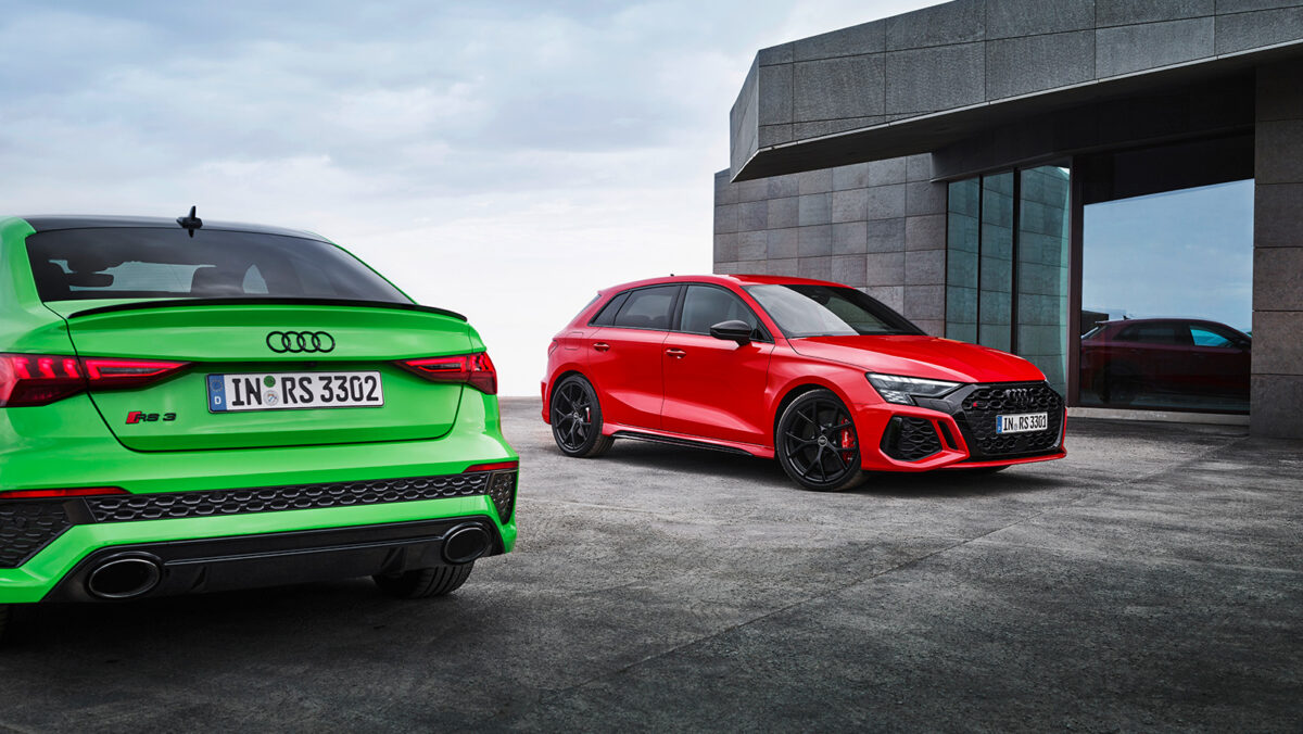 Audi RS 3 Saloon fore
