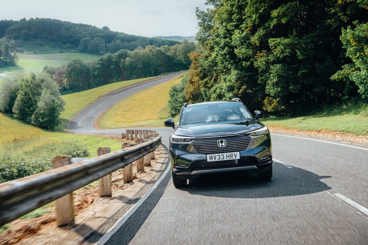 Honda HR-V front dynamic
