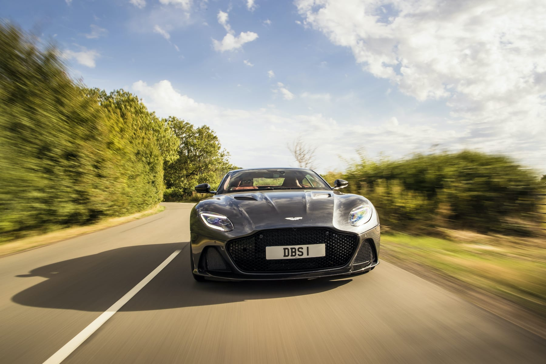Aston Martin DBS (2018 onwards) – front view