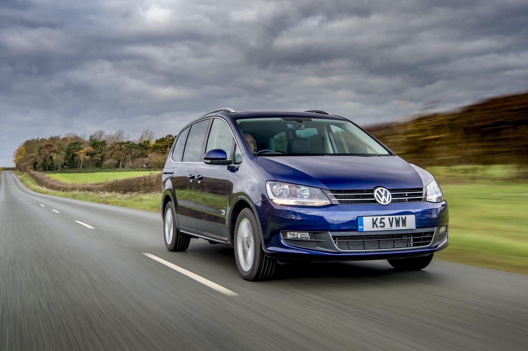 Volkswagen Sharan (2015 onwards) – front view