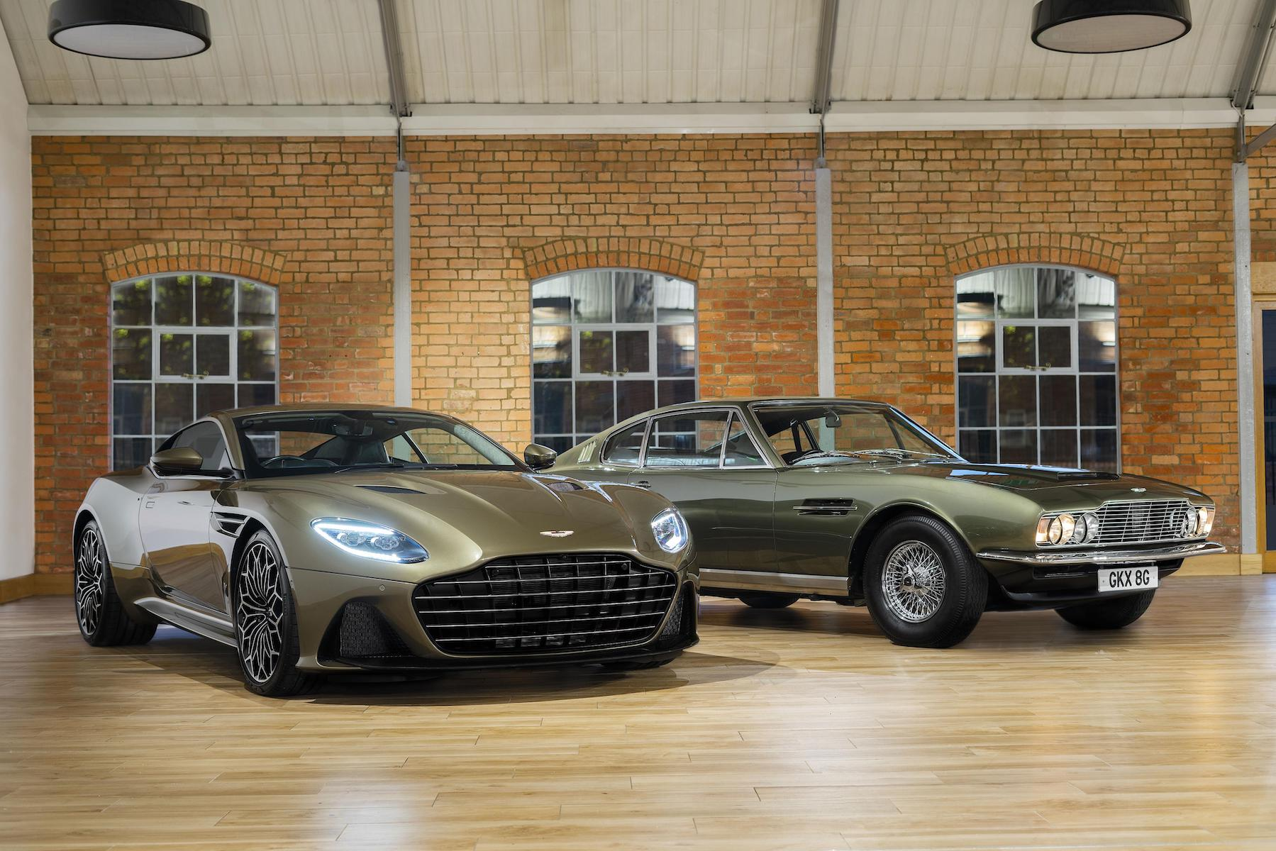Aston Martin DBS (2018 onwards) – OHMSS Edition