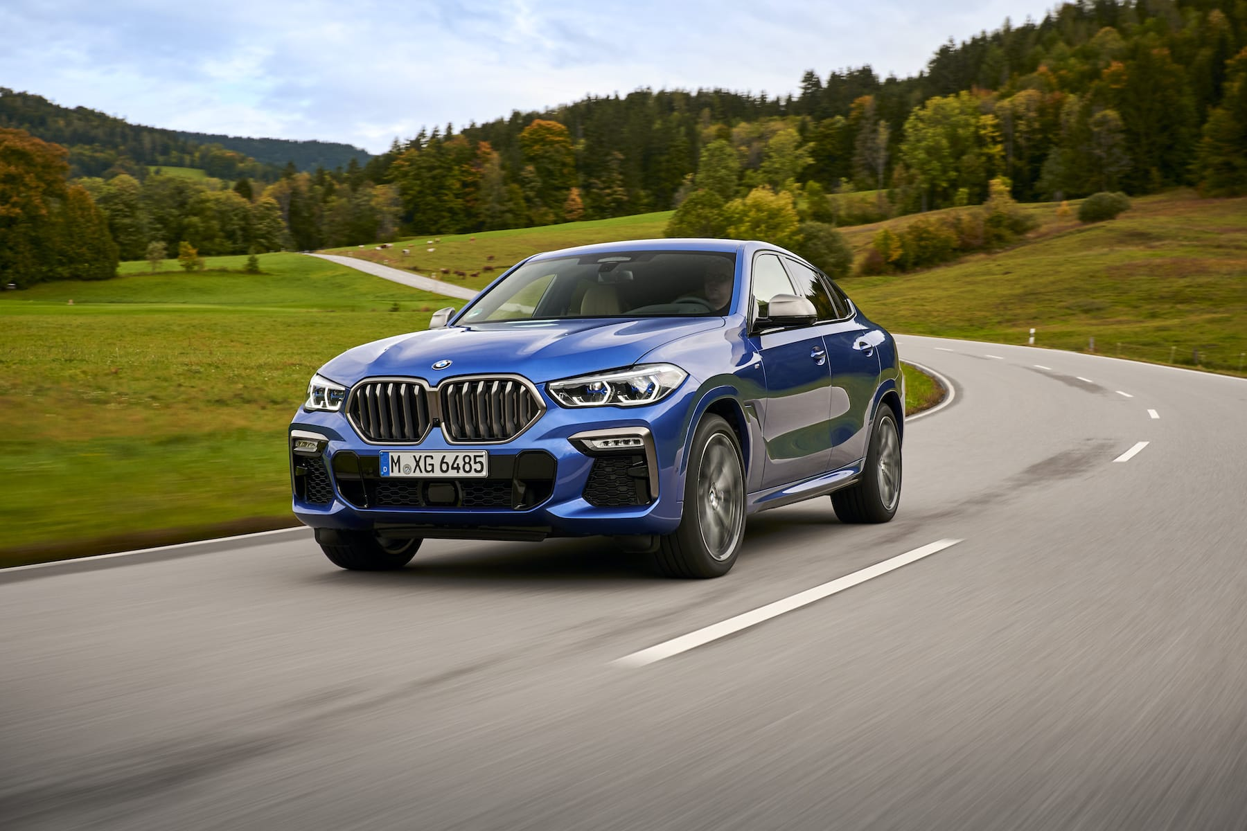 BMW X6 (2020 onwards) – front view