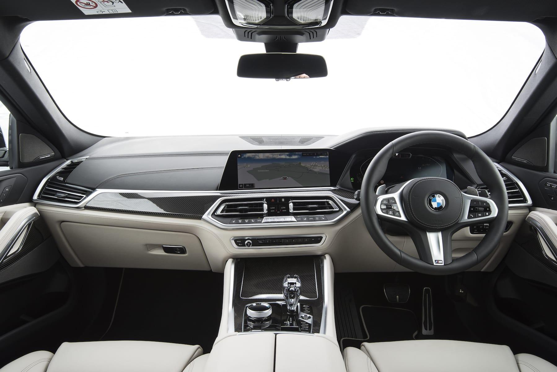 BMW X6 (2020 onwards) – interior and dashboard