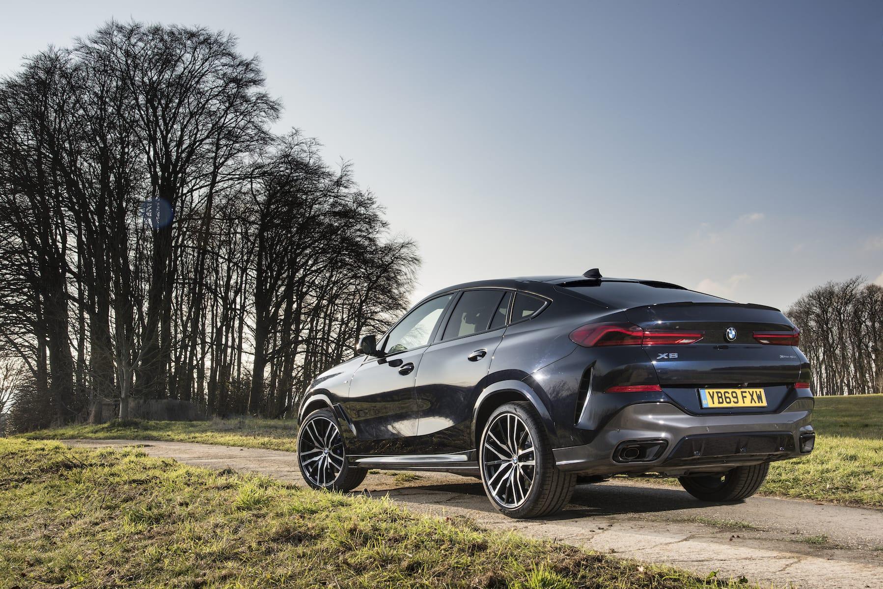 BMW X6 (2020 onwards) – rear black UK